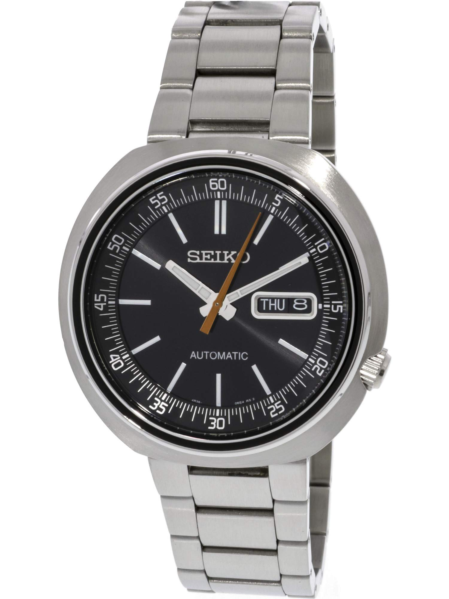 Seiko Mens Analogue Automatic Watch with Stainless Steel Strap SRPC11K1