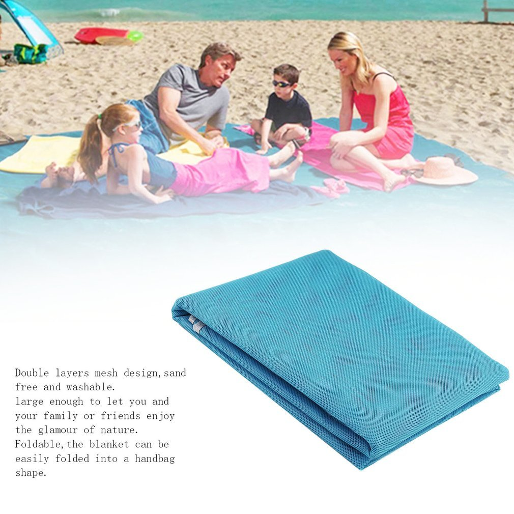 YTYC Outdoor Double Layers Beach Mat Foldable 22m Blanket Portable Travel