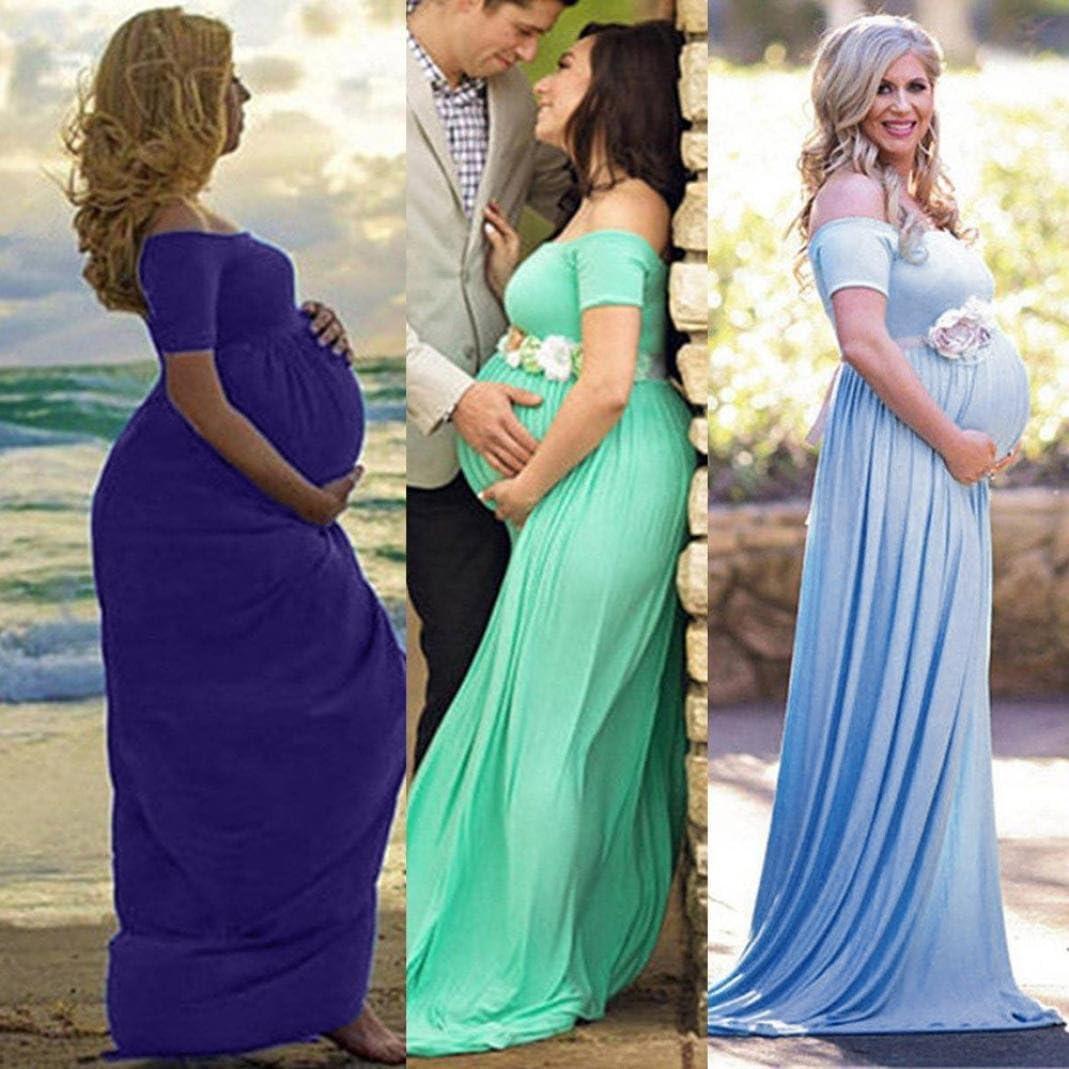 K-youth Vestido Embarazada Fotografia Vestido para Mujeres Embarazadas Vestidos Premama Verano Vestidos de Fiesta Mujer Largos Vestido Fotos Embarazada Vestidos Embarazada Fotografia