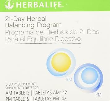 Amazon.com: Herbalife 21 día Herbal Limpieza Programa, AM/PM ...