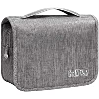 Suppo Hanging Toiletry Travel Organizer Bag for Makeup and Toiletries