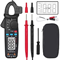 BSIDE ACM81 Digital Clamp Meter 1mA AC Current Pocket True RMS Auto-Ranging Meter Temperature V-Alert Continuity Diode…