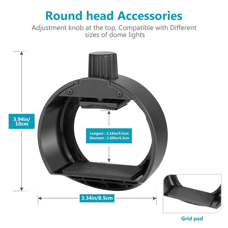 Neewer AK-R1 Kit Accesorios para Flash Cámara con Adaptador Cabeza ...