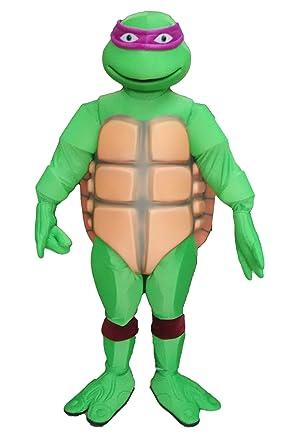 ARISMASCOTS Disfraz de Tortuga Ninja mutante para ...