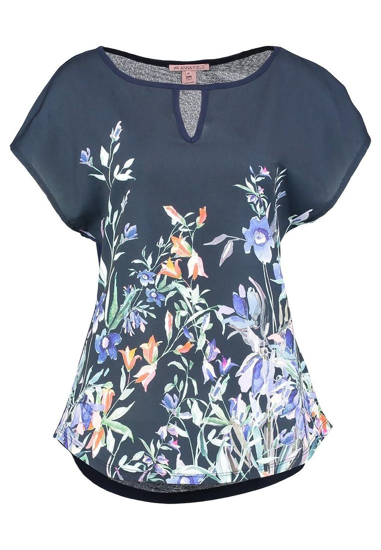 Damen Sommer T Shirts Ärmellos Blusenshirt mit Mesh Spitze Hemdbluse Oberteile