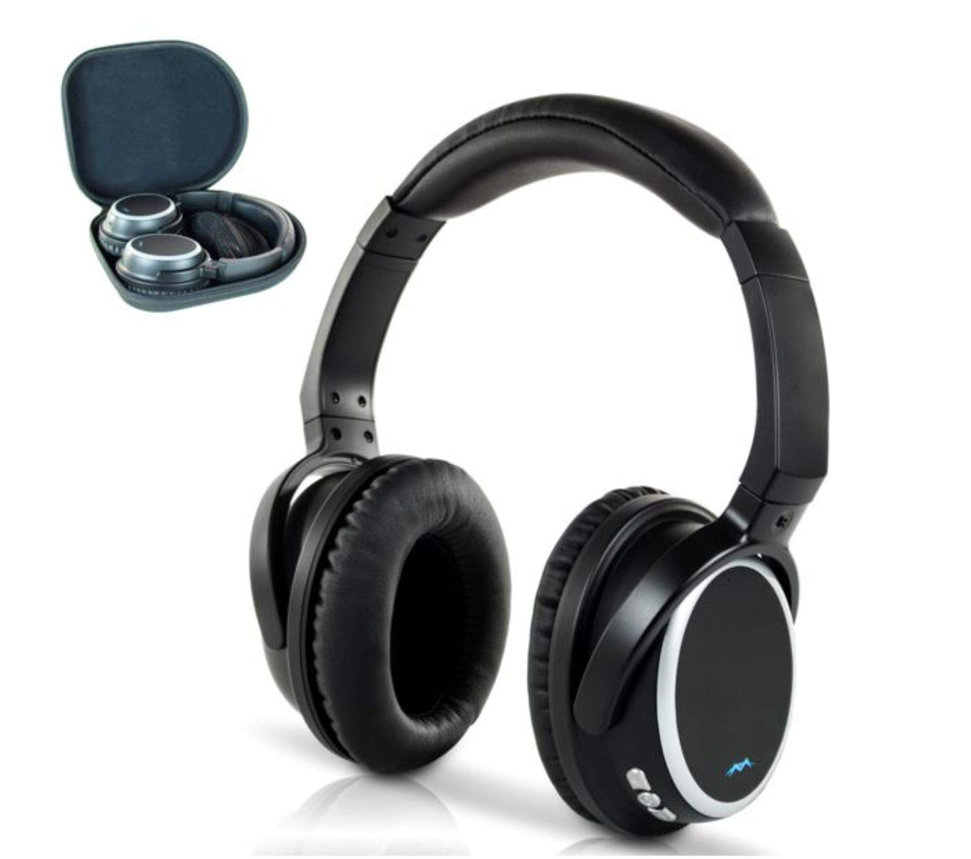 Auriculares Miccus [Upgraded] Inalambrico TV Confortable Hi Fi Bluetooth 5 Over-Ear NO DELAY aptx Low Latency Headset co