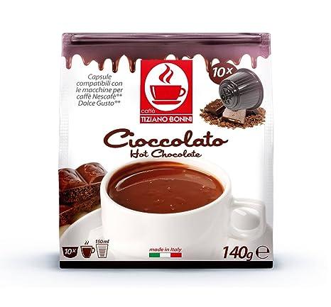 Chocolate, DOLCE GUSTO compatible. 50 cápsulas BONINI ...