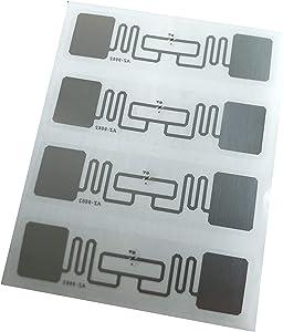 UHF RFID Tag,AZ9662 ISO18000-6C Long Range,Alien H3 73.5x21.2mm Adhesive Inlay Label (Pack of 100)