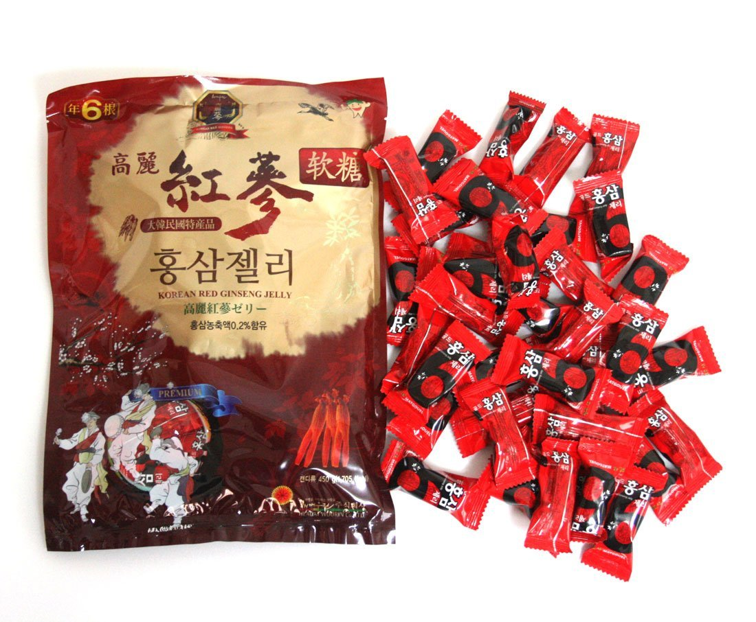 Korean Red Ginseng Jelly 450g / refreshing/ginseng extract and powder/Korean Made