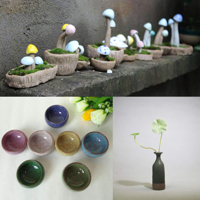 mini tour de poterie KKmoon Machine en c/éramique DIY Craft avec USB plaque tournante /électrique de poterie 4,3 cm roue en c/éramique