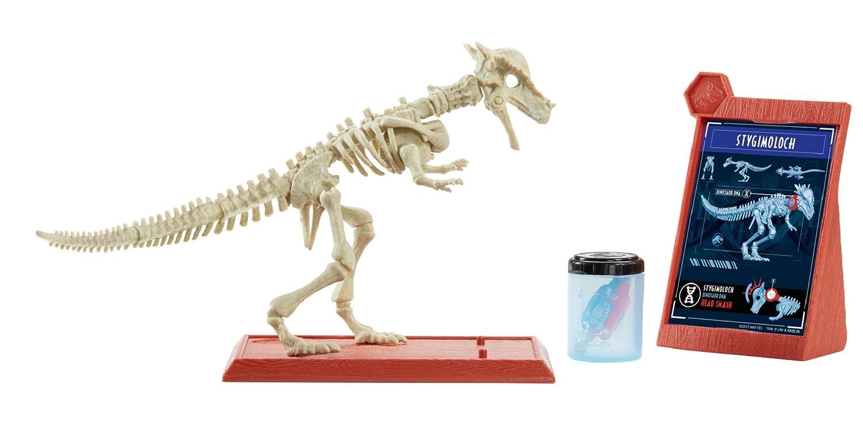Jurassic World Fossil Strikers Stygimoloch Figure