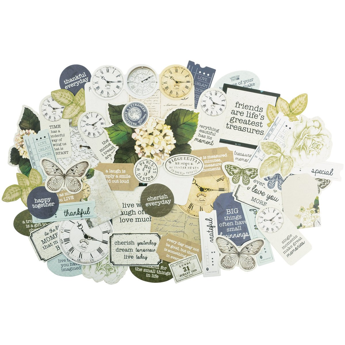 Provincial Collectables Cardstock Die-Cuts- by Kaisercraft B017WUE5XI