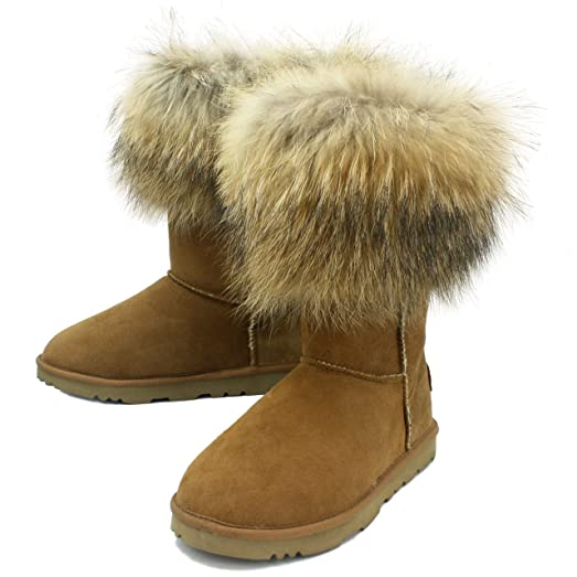 Women's Sasa Short Premium Sheepskin Winter Boots