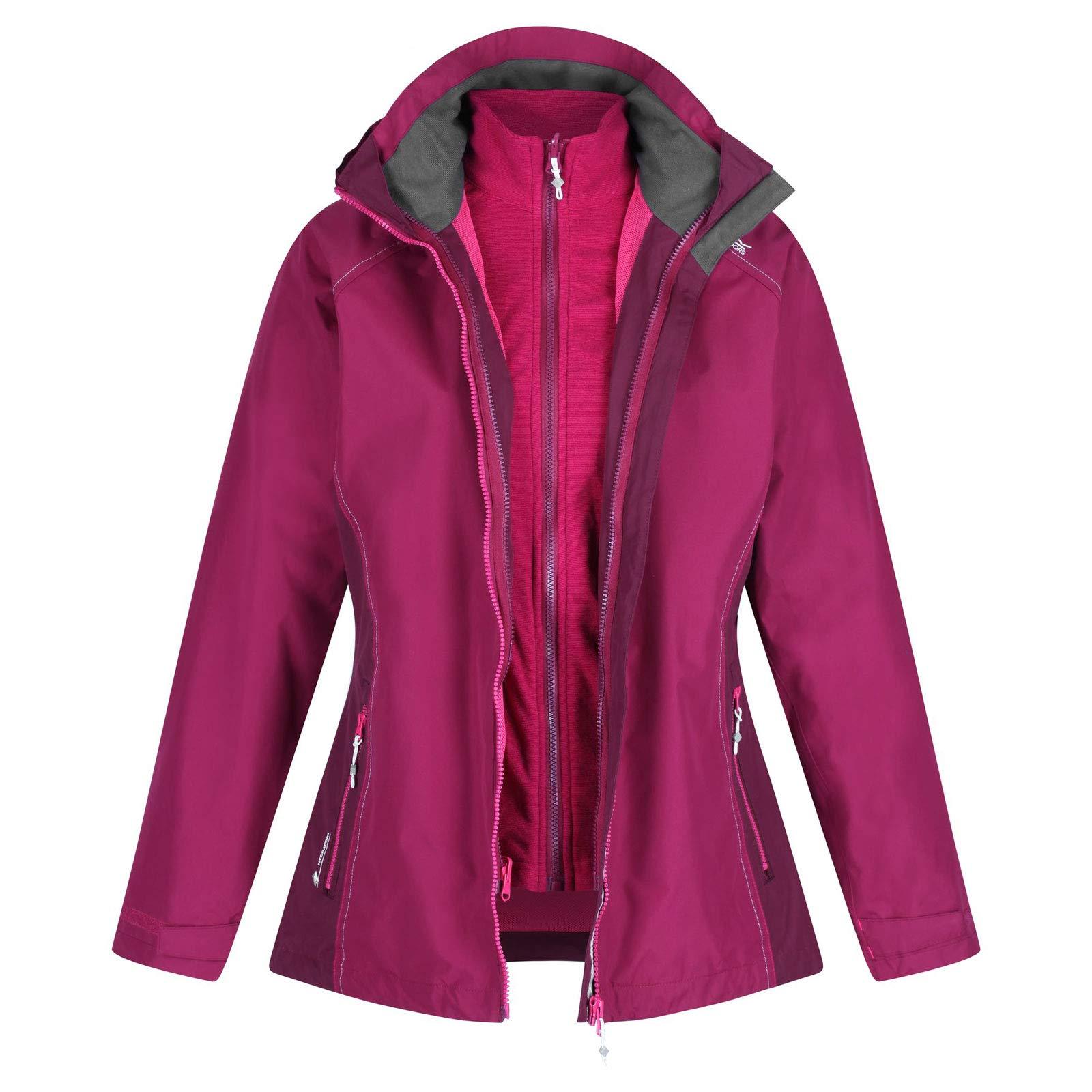 Regatta Damen Premilla Ii 3 in 1 Waterproof with Zip-Out Fleece Jacke