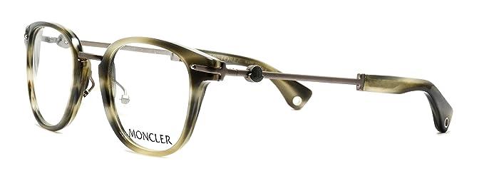 a8c7595faefac Amazon.com  Eyeglasses Moncler MC502 V04 grey frames Size 48-23-140 ...