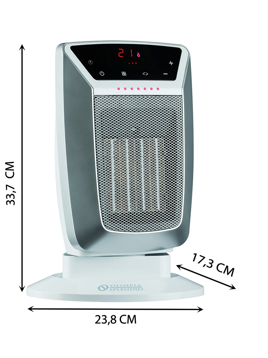 717w1aW6XTL. SL1181  Olimpia Splendid 99449 Caldostile D, termoventilatore da pavimento da 2000 watt