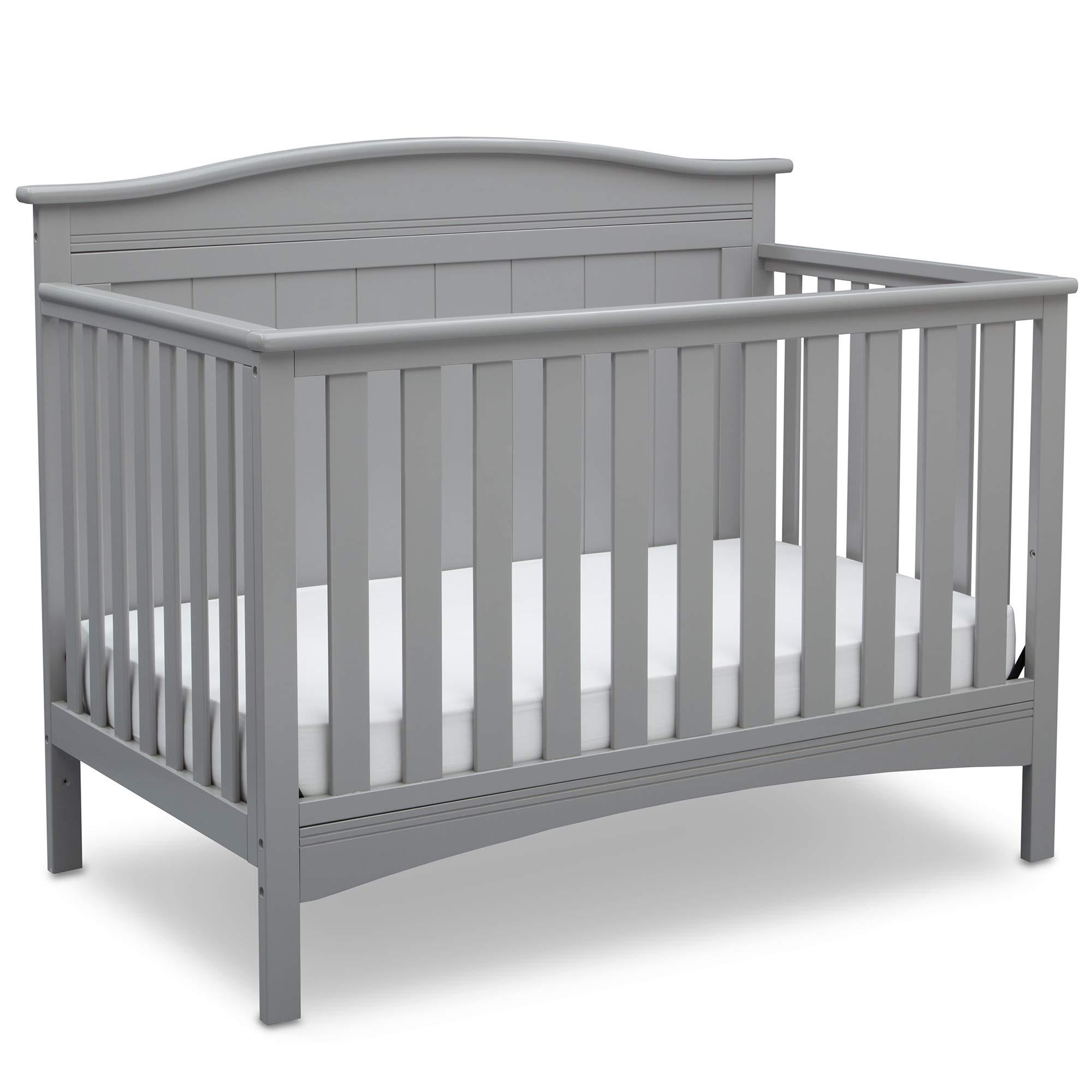 Delta Children Bennett 4-in-1 Convertible Baby Crib, Grey by Delta Children