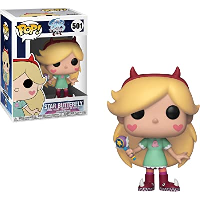 Funko 35769 Pop! Disney: Star Vs. Forces of EvilStar, Multicolor: Toys & Games