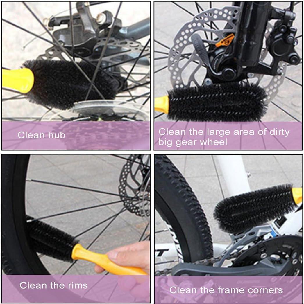 Ckeyin® Juegos de Herramientas de Limpieza de Bicicletas Cepillos ...