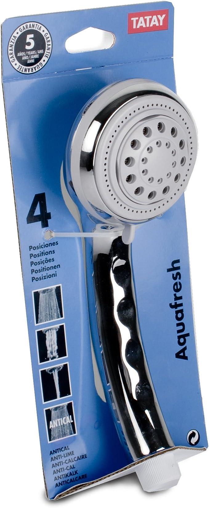 TATAY 3310409 - Aquafresh Ducha de mano antical de 4 posiciones ...
