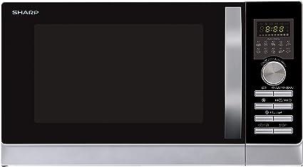 Sharp R843INW Microondas 3 en 1 con aire caliente