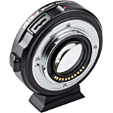VILTROX EF-M2II Focal Reducer Booster Adapter Auto-Focus 0.71x for Canon EF Mount Series Lens to M43 Camera GH4 GH5 GF6…