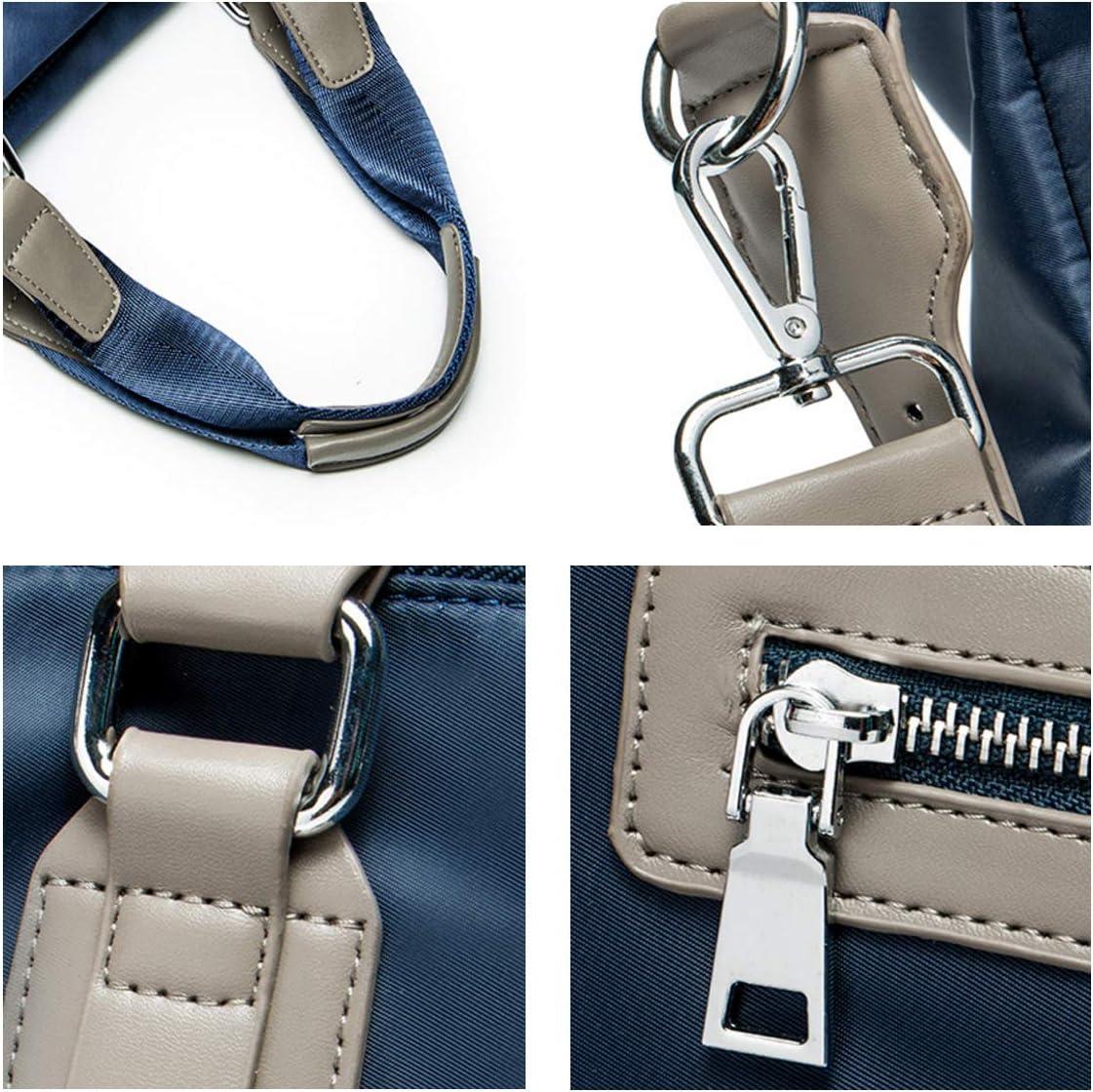 AYAHOA Large Leather Handbag Duffel Bag Gym Travel Shoulder Bag Overnight Luggage Men