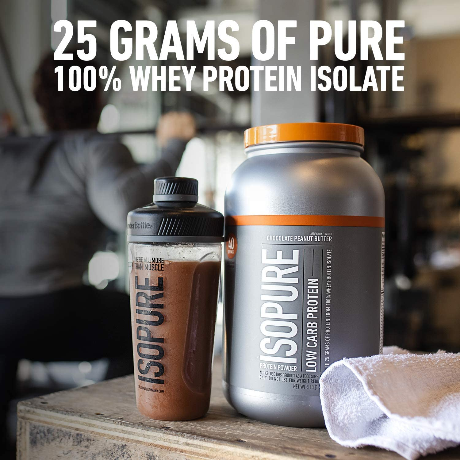 Isopure Zero Carb, Vitamin C and Zinc for Immune Support,: Health & Personal Care