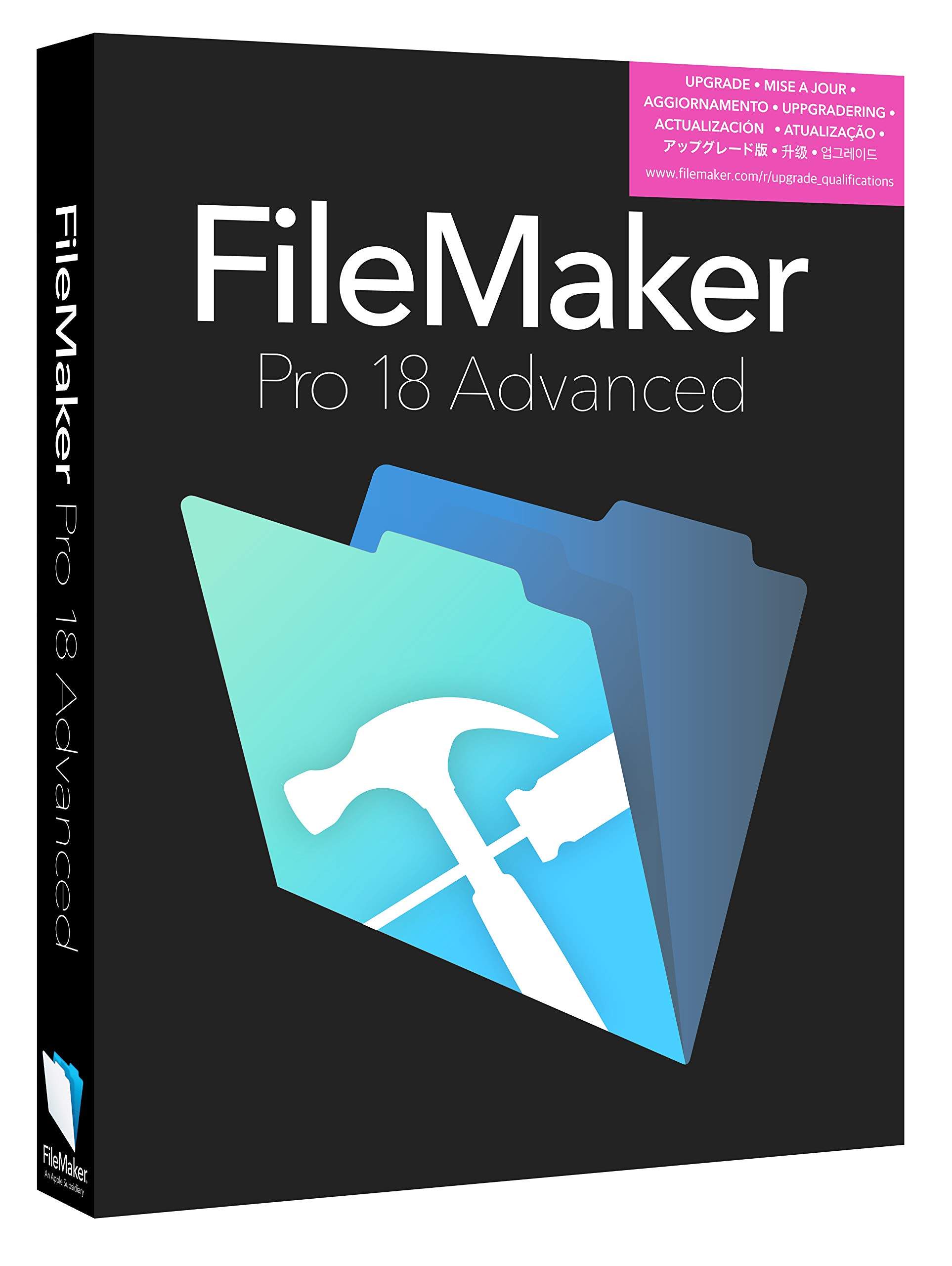 FileMaker Pro 18 Advanced Mac/Win V18 by Filemaker