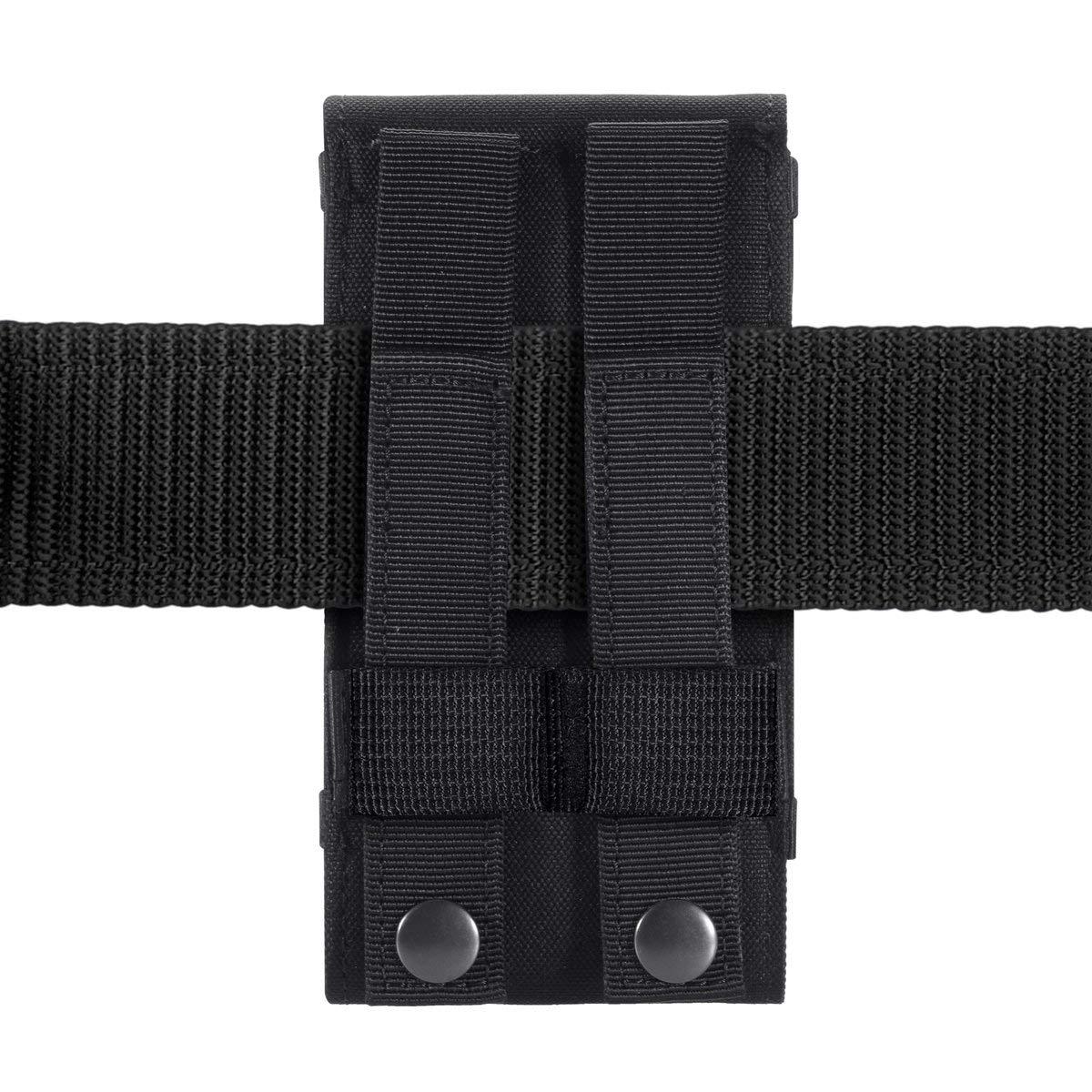 Urvoix Black Army Camo Molle Tasche f/ür Handy G/ürteltasche Holster Cover Case Gr/ö/ße L