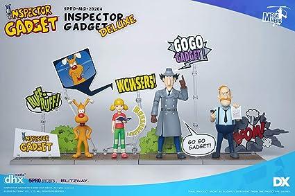 Blitzway Inspecteur Gadget figurine Inspector Gadget Deluxe version