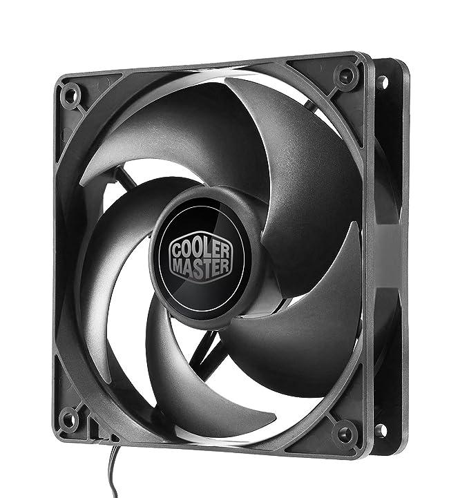 3 opinioni per Cooler Master Silencio FP 120 3-Pin Ventola per Case '1200 +/- 200 RPM, 120mm,