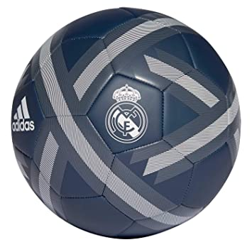 adidas 2018-2019 Real Madrid Supporters Football (Dark Grey)  Amazon ... a1c45a1458954
