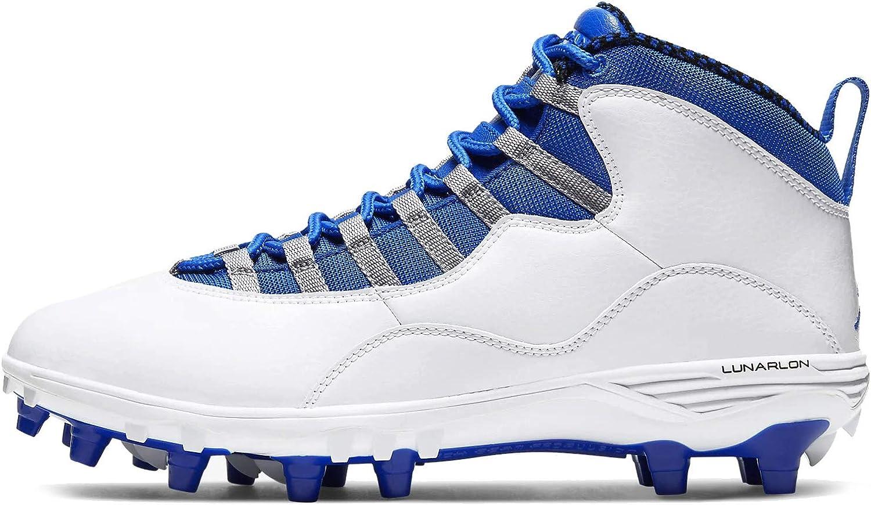 Jordan 10 Td Mid Mens Football Cleat