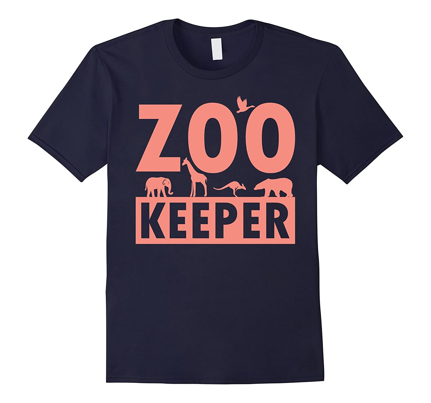Zoo Keeper T-Shirt for Zoo Workers, Animal Lovers, Staff-FL