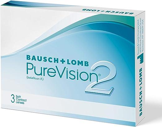 BAUSCH + LOMB - PureVision2® - Lentes de contacto de reemplazo mensual: Amazon.es: Salud y cuidado personal