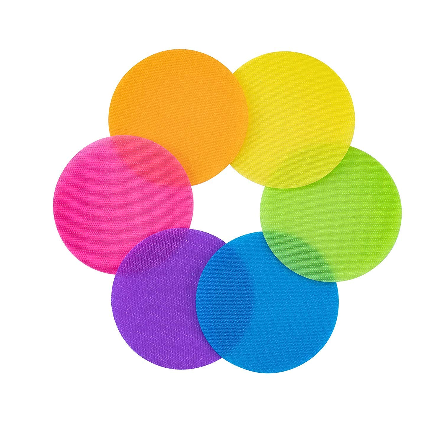Carpet Markers for Classroom, Sit Spots (30 Pack of Circles), 5 inches Spot Markers for Teaching, Games, Sport