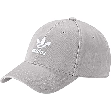 d7f2e785074 adidas Originals Adic Washed Cap One Size MGH Solid Grey White at ...