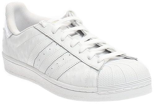 new arrival 4e408 ff17f Adidas Superstar Foundation, Scarpe Sportive da Uomo, Superstar, Bianco   Adidas  Amazon.it  Scarpe e borse