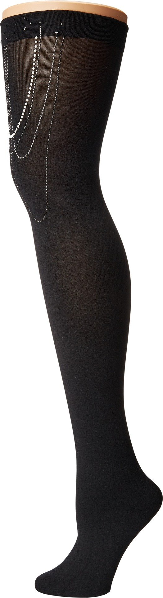 Wolford Women's Jewelled Stay-Up Black/Sparkle Medium