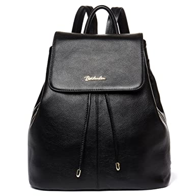 6c2867007 Amazon.com: BOSTANTEN Women Leather Backpack Purses College Casual Daypack  Handbags: Clothing