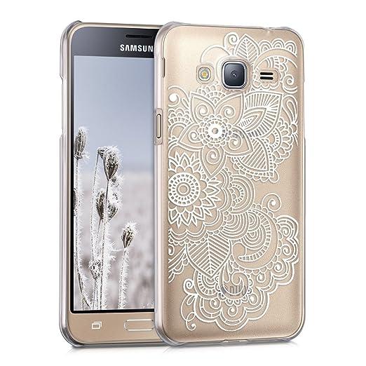 19 opinioni per kwmobile Cover per Samsung Galaxy J3 (2016) DUOS- Custodia trasparente per