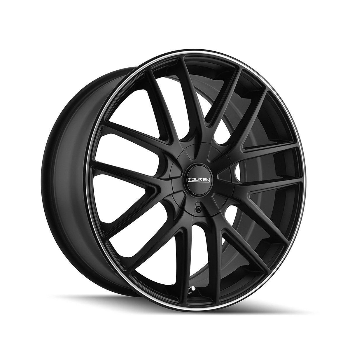 Touren TR60 17 Black Wheel / Rim 5x100 & 5x4.5 with a 42mm Offset and a 72.62 Hub Bore. Partnumber 3260-7703MB