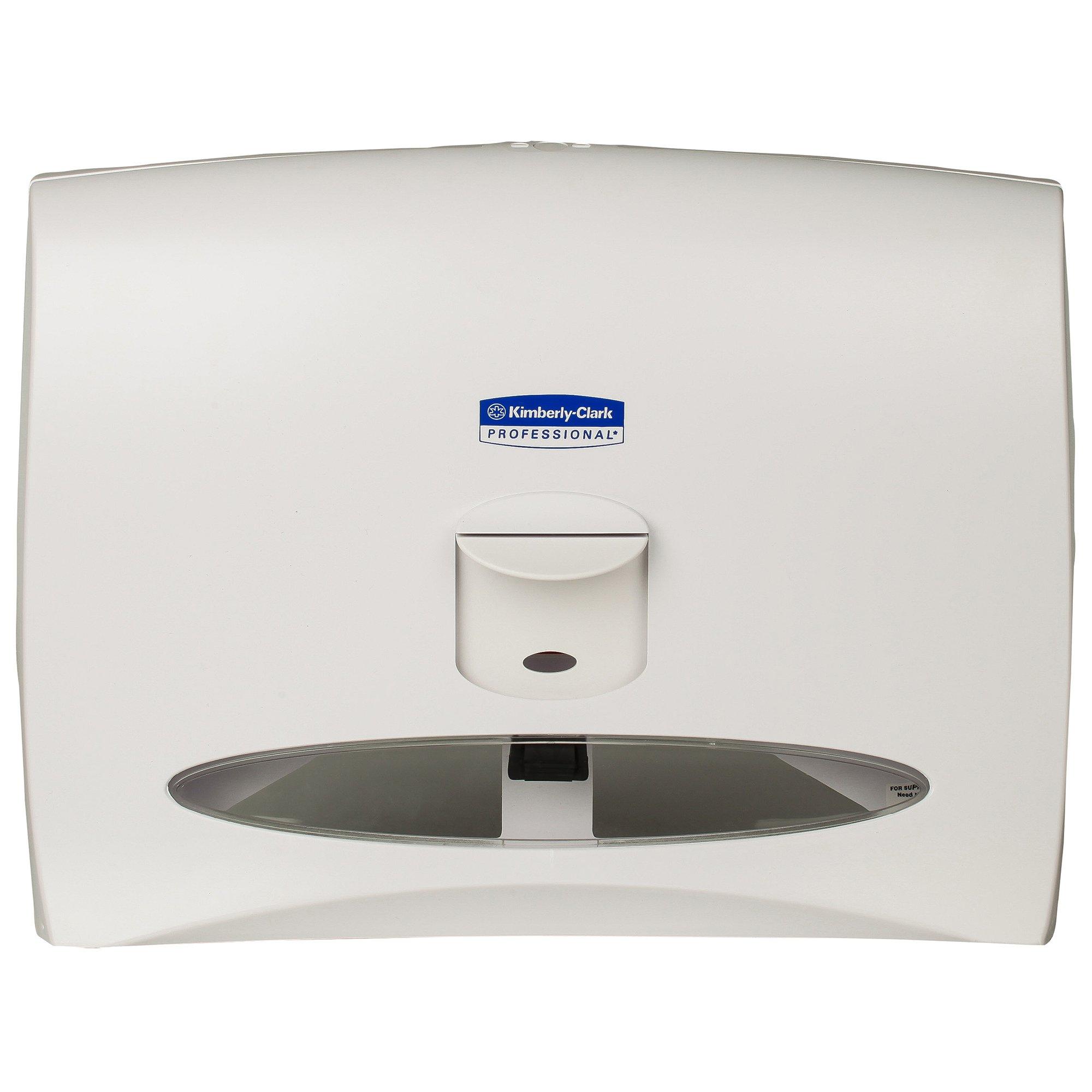 WINDOWS 09505 White Toilet Seat Cover Dispenser