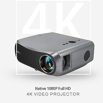 Proyector Nativo 1920x1080P Apoyo 4K Full HD Actualizado 5500 Lux ...