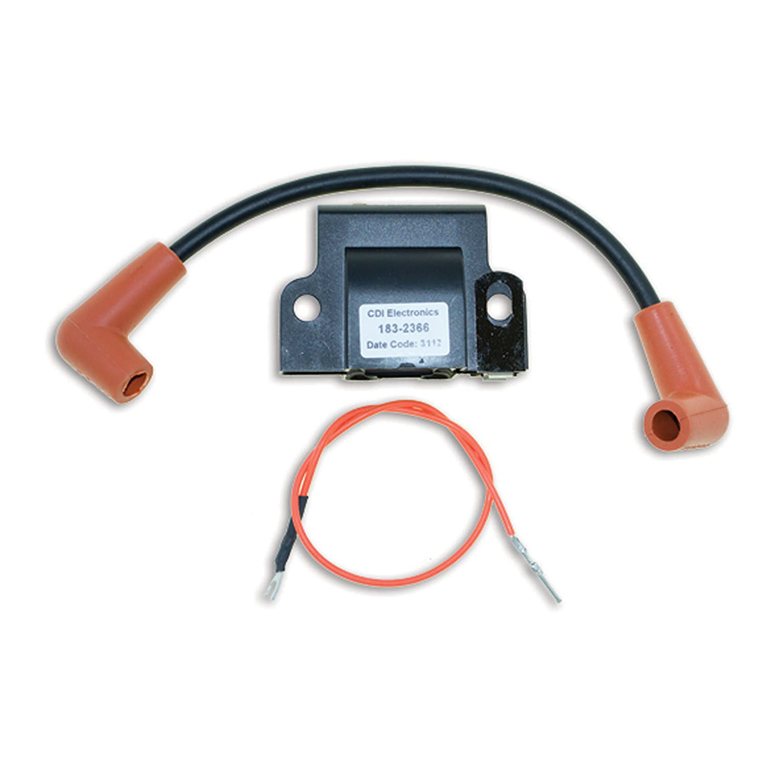 Boating Accessories CDI Electronics 183-2366 Johnson//Evinrude Ignition Coil-2//3//4//6 Cyl 1977-1984