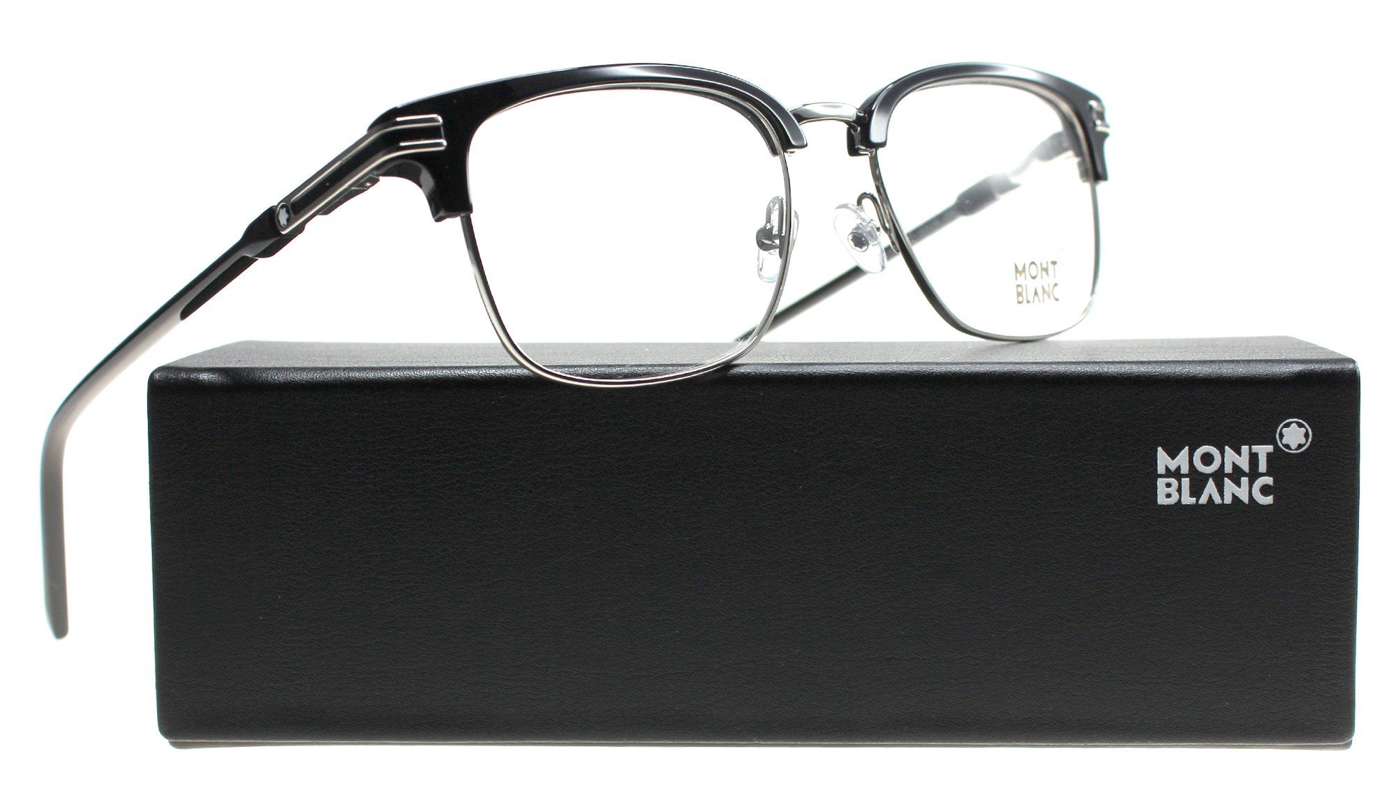 Eyeglasses Montblanc MB 669 MB 0669 001 shiny black by MONTBLANC