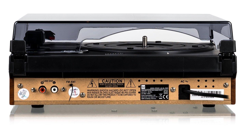 Dual DTR 50 P Tocadiscos (Velocidad Complemento, Altavoces ...