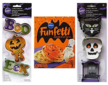 halloween cookie baking kit 1 pillsbury halloween funfetti sugar cookie mix 175 oz