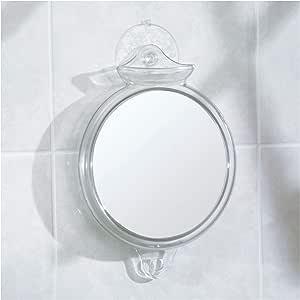 InterDesign Basic Fog Away Suction Mirror